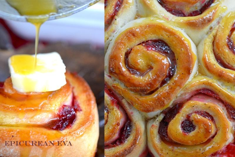 cranberry-bun-collage