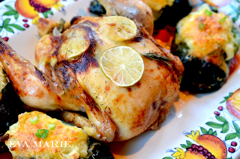 roasted-chicken-and-peppers