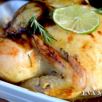Honey, Lime and Cumin Roasted Chicken
