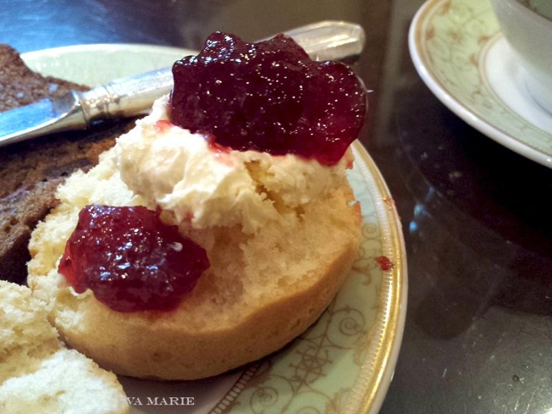 scone-with-cream